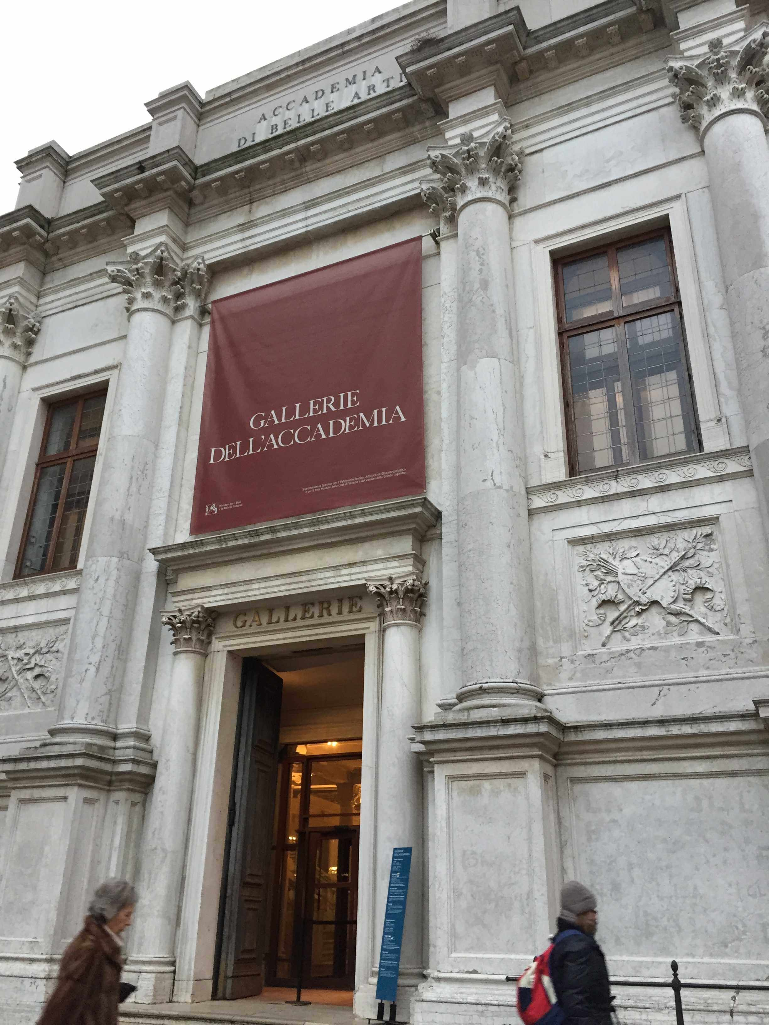 accademia gallery venice entrance